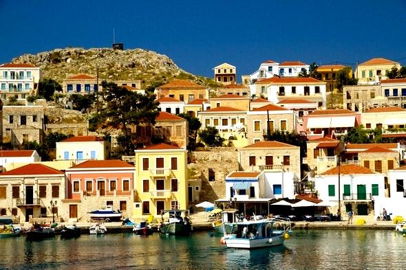 Chalki-Halki island: Chalki information - Chalki holidays - Dodecanese, Greece